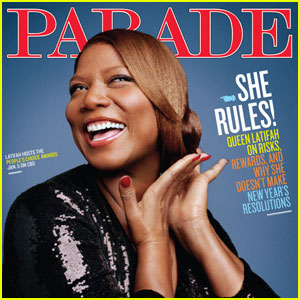 Queen Latifah Covers 'Parade' Magazine