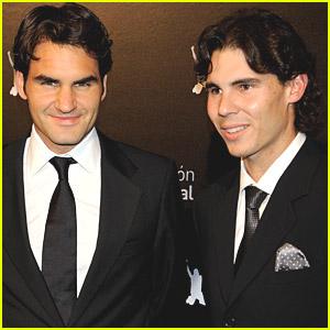 Roger Federer & Rafael Nadal Raise Millions For Charity