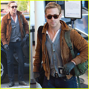 Ryan Gosling: Patdown at the Airport!
