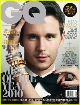 Ryan Kwanten: GQ Australia's Man of the Year!