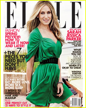 Sarah Jessica Parker Covers 'Elle' January 2011