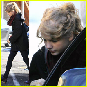 Taylor Swift: 21st Birthday at the Recording Studio!