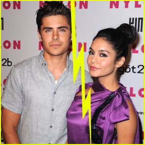 Zac Efron &#038; Vanessa Hudgens Split