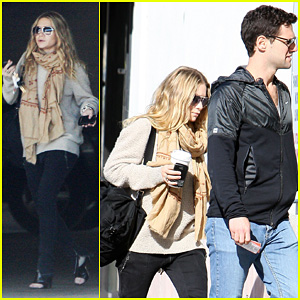 Ashley Olsen: Shopping with Justin Bartha