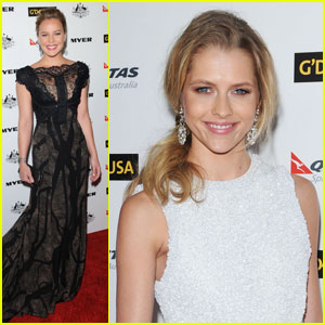 Abbie Cornish & Teresa Palmer: G'Day Gala Gals