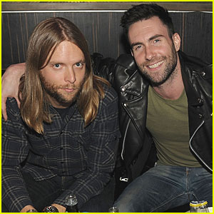 Adam Levine: Haze Nightclub with James Valentine!