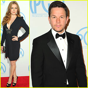Amy Adams & Mark Wahlberg: Producers Guild Awards!