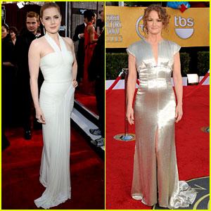 Amy Adams & Melissa Leo - SAG Awards 2011 Red Carpet