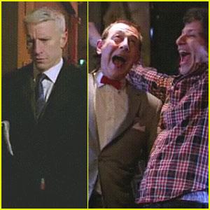 Anderson Cooper & Pee-wee: SNL Digital Short!