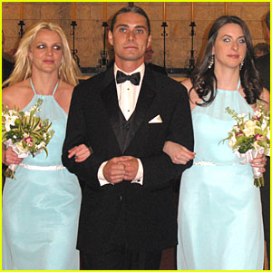 Britney Spears Walks Down the Aisle