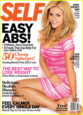 Brooklyn Decker Covers 'Self' February 2011