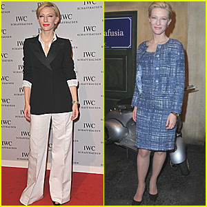 Cate Blanchett: IWC Portofino Watch Launch!