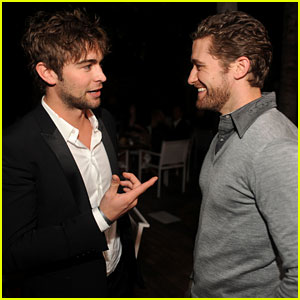 Chace Crawford: New Year's Eve with Matthew Morrison!