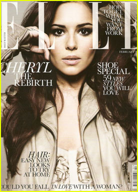 Cheryl Cole Covers 'Elle UK' February 2011