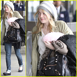 Dakota Fanning: From L.A. to Louisiana!