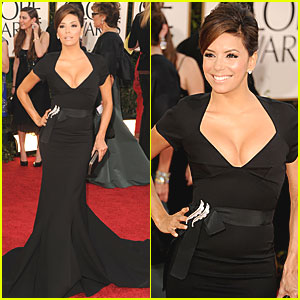 Eva Longoria - Golden Globes 2011 Red Carpet