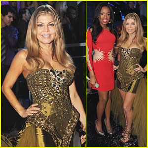 Fergie & Jennifer Hudson: 'Feelin' Good' on New Year's Eve!