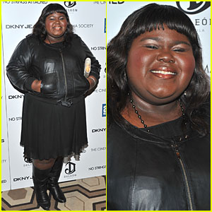 Gabourey Sidibe: 'No Strings Attached' Screening!