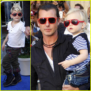 Gavin Rossdale: Matching Sunglasses with Kingston & Zuma!