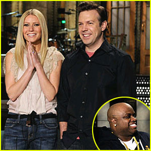 Gwyneth Paltrow & Cee Lo Green on SNL - FIRST LOOK