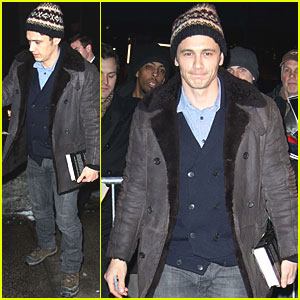 James Franco Went To Poetry Class After Oscar Nomination