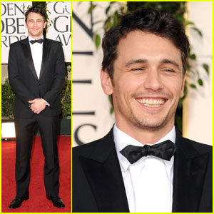 James Franco - Golden Globes 2011 Red Carpet
