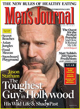 Jason Statham Covers 'Men's Journal' February 2011