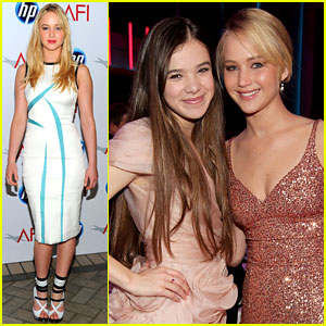 Jennifer Lawrence & Hailee Steinfeld: Critics' Choice Awards!