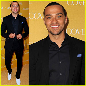 Jesse Williams: CoverGirl Cosmetics Party!