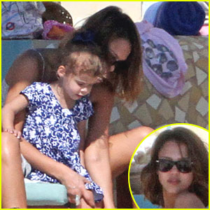 Jessica Alba & Honor: Time for Family & Friends!