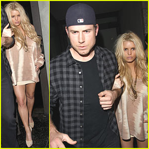 Jessica Simpson & Eric Johnson: Katsuya Couple