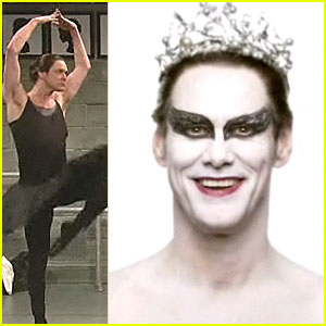 Jim Carrey: Black Swan Spoof for 'SNL'!