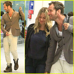 Jude Law & Sienna Miller: London Lovebirds