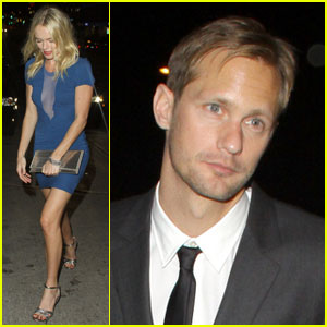 Kate Bosworth & Alexander Skarsgard: After Party Pair