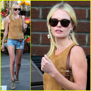 Kate Bosworth: Daisy Dukes at Bristol Farms