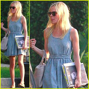 Kate Bosworth: Denim Dress & 214 Mag!