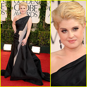 Kelly Osbourne - Golden Globes 2011 Red Carpet