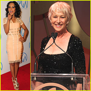 Kerry Washington & Helen Mirren: Producers Guild Presenters!