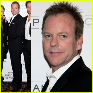 Kiefer Sutherland: 'That Championship Season' Meets the Press