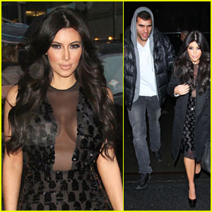 Kim Kardashian: Letterman & Date with Kris Humphries