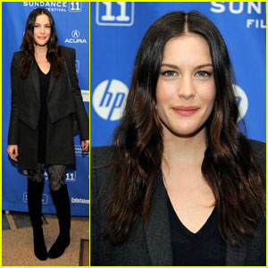 Liv Tyler Bings Off 'The Ledge'