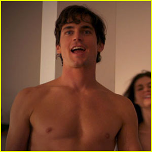 Matt Bomer: Shirtless 'White Collar' Teaser Pics!