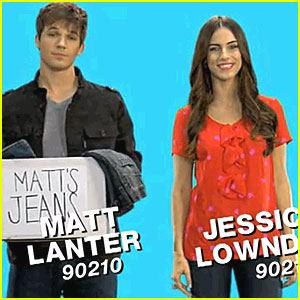 Jessica Lowndes & Matt Lanter: Teens for Jeans!