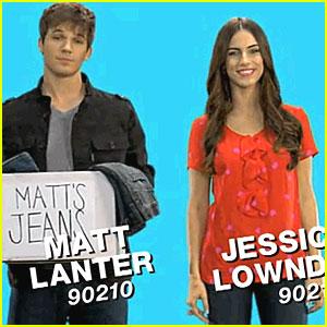 Jessica Lowndes & Matt Lanter: Teens for Jeans!