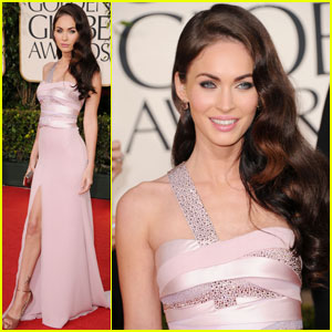 Megan Fox - Golden Globes 2011 Red Carpet