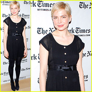 Michelle Williams: New York Times Arts &#038; Leisure Weekend!
