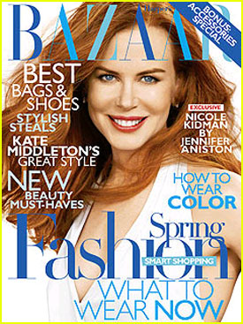 Nicole Kidman Covers 'Harper's Bazaar' February 2011