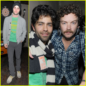 Penn Badgley: Superdry at Sundance
