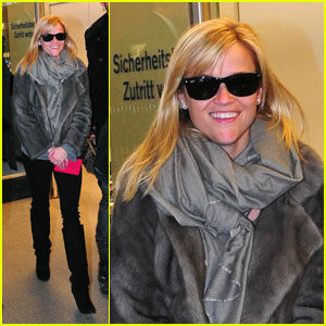 Reese Witherspoon: Bundled Up in Berlin
