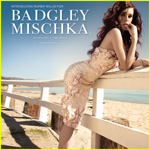 Rumer Willis: Badgley Mischka Ad Campaign!